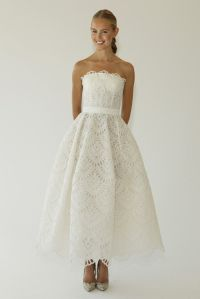 Tea-Length-Oscar-De-La-Renta