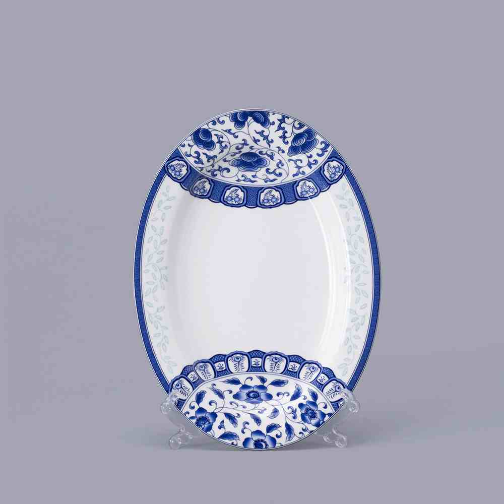 Jingdezhen-porcelain-Blue-and-white-porcelain-chinaware-bone-china-tableware-suit-Korean-glazed-ceramic-dishes